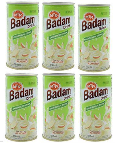 MTR Badam-Cardamon Drink 180ml X 6Pcs