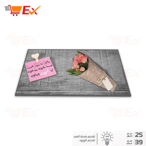 Wood base for gift delivery -  3 - MarkeetEx