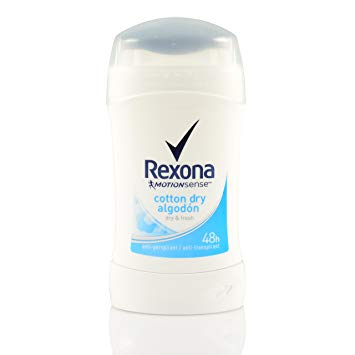 REXONA COTTON DRY ANTIPERSPIRANT STICK 40ML - مزيل العرق كوتن دراي ريكسونا