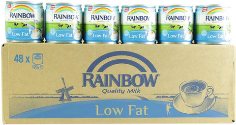 Rainbow Low Fat Tea Milk Box 48x170ml