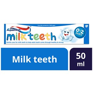 Aquafresh Milk Teeth Toothpaste 50ml - MarkeetEx