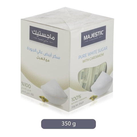 Majestic Pure White Sugar With Cardamom - 350 g