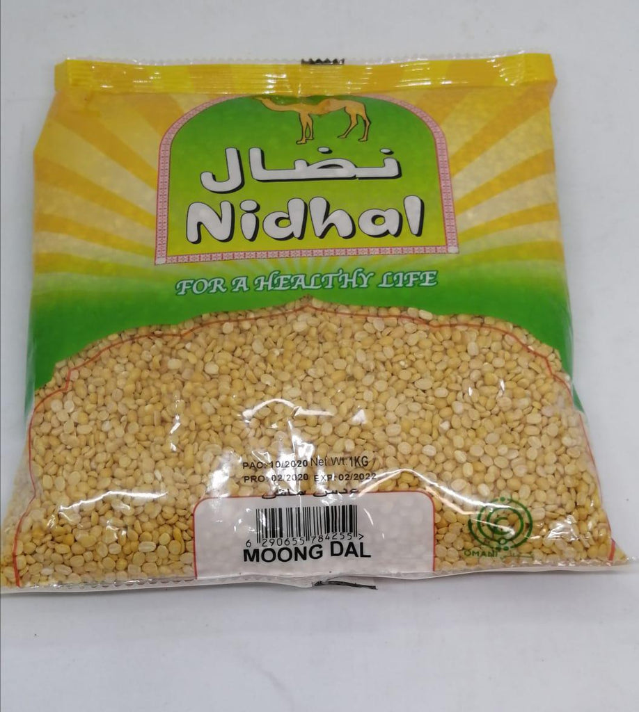 Nidhal - Moong Dal  - 1kg Pack - MarkeetEx