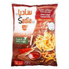 Sadia Extra Crispy French Fries Thin Cut - Extra Crispy 1kg - MarkeetEx