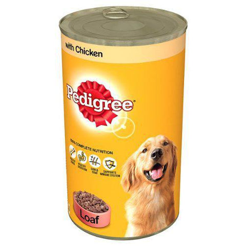 Pedigree with Chicken - Loaf 400gm