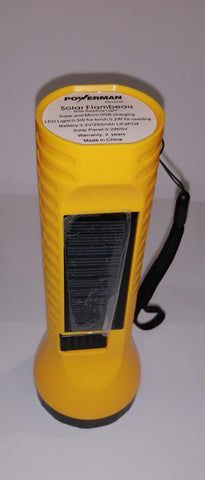 Powerman Light Solar Torch
