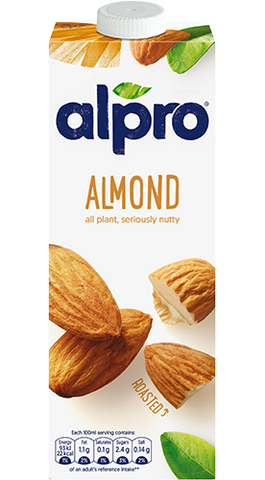 Alpro Roasted Almond Drink Original 1L - MarkeetEx