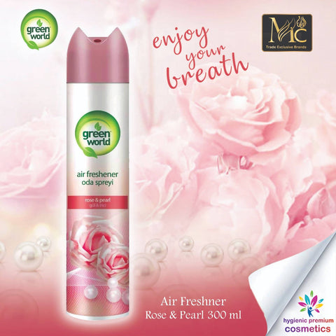 AIR FRESHENER ROSE & PEARL 300 ML معطر الجو