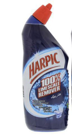 Harpic Toilet Cleaner 100% Limescale Remover 750ml