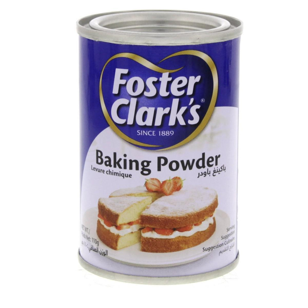 Foster Clarks Baking powder 110gm - - MarkeetEx