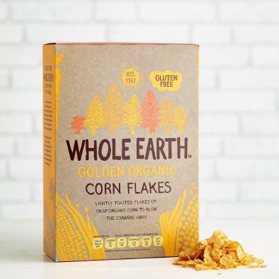 Whole Earth - Golden Organic Corn Flakes 375gm - MarkeetEx