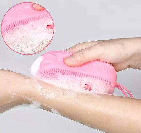 Bath Brush Bubbles - Silicone - MarkeetEx