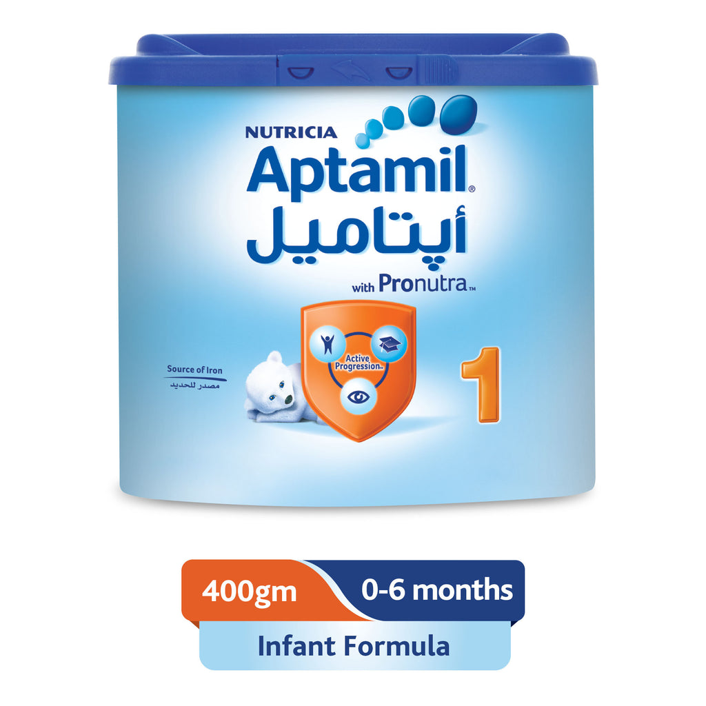 Aptamil 1 Infant Formula Milk, 400g - MarkeetEx