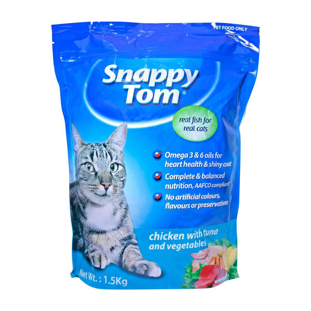 Snappy Tom Chicken with Tuna and Vegetable 1.5kg - MarkeetEx