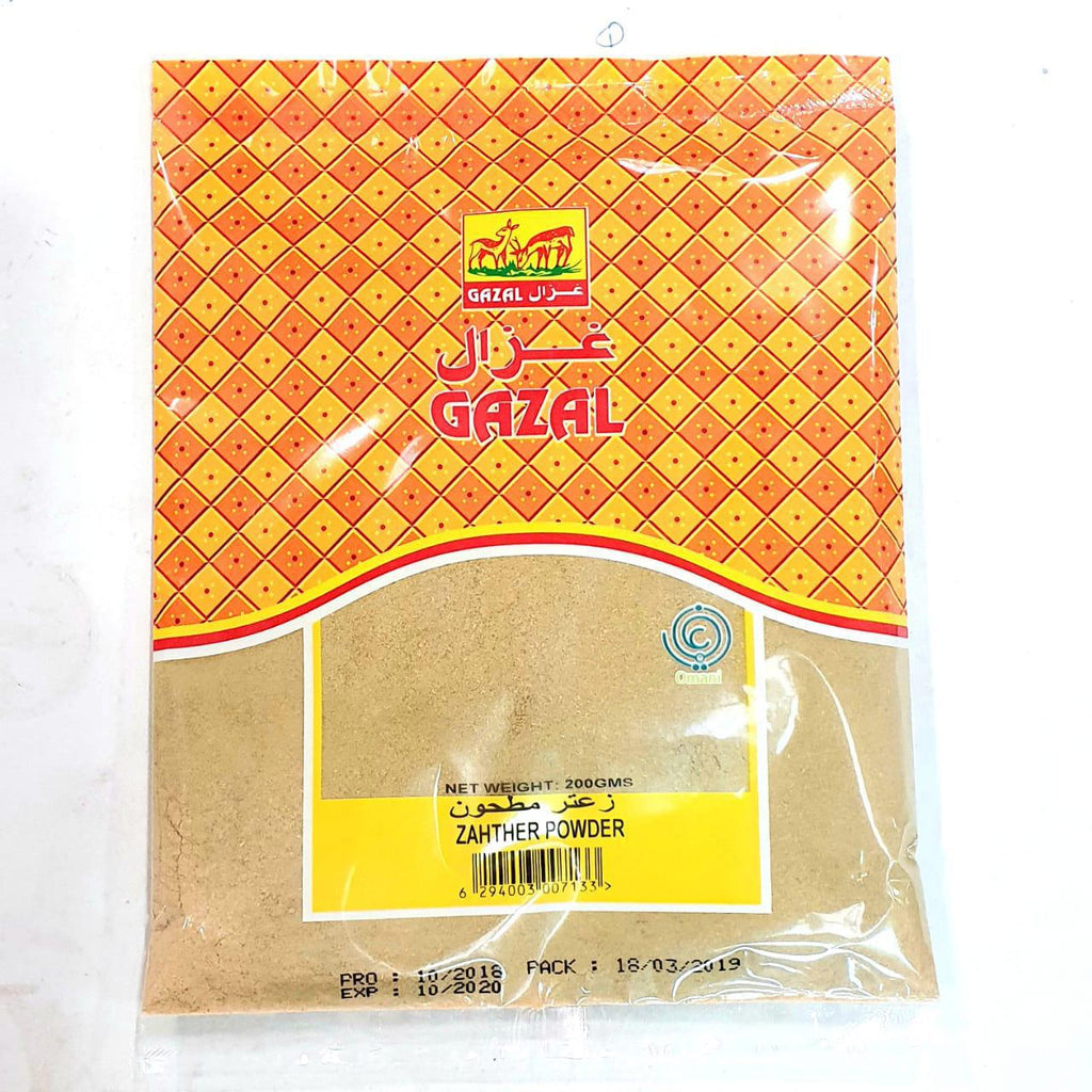 NOOR GAZAL ZAHTHAR POWDER 200 GM - غزال زعتر مطحون