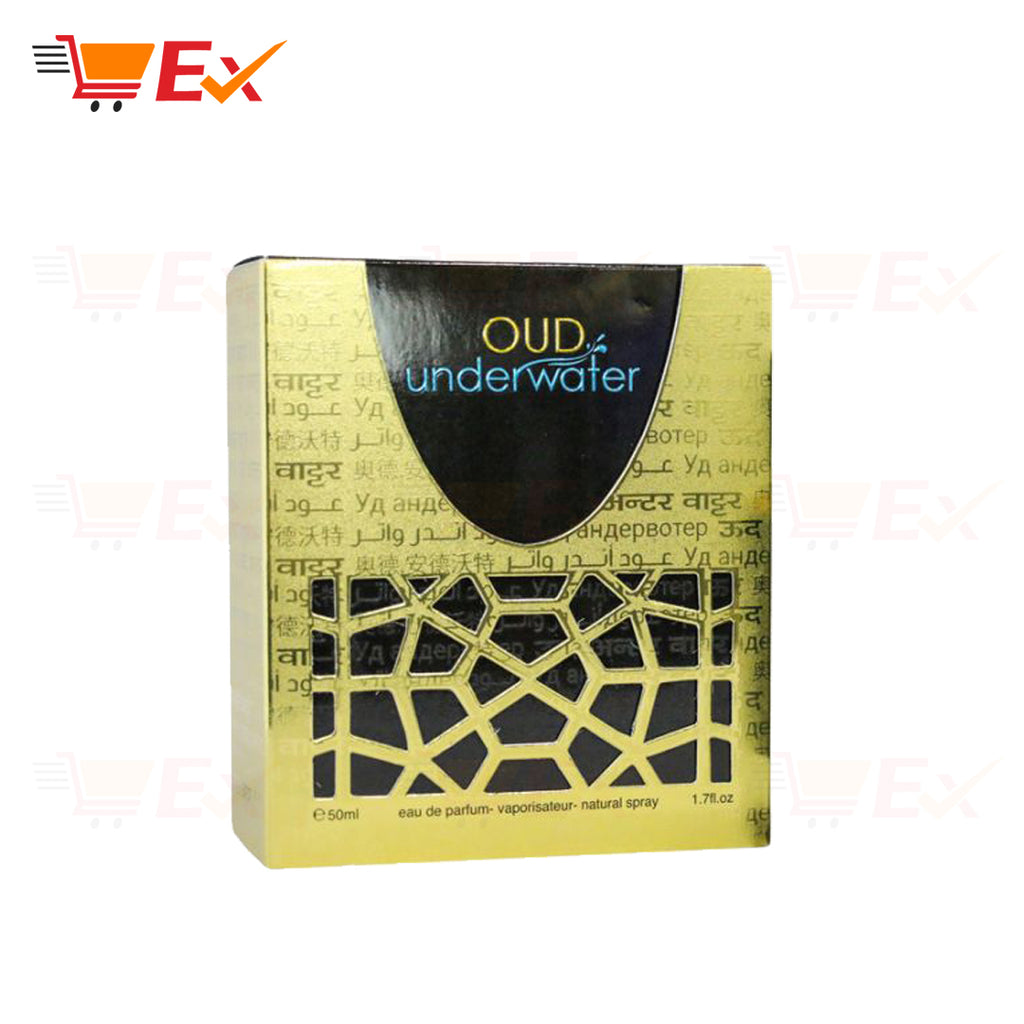 Oud Underwater Perfume for Unisex EDP, 50ml