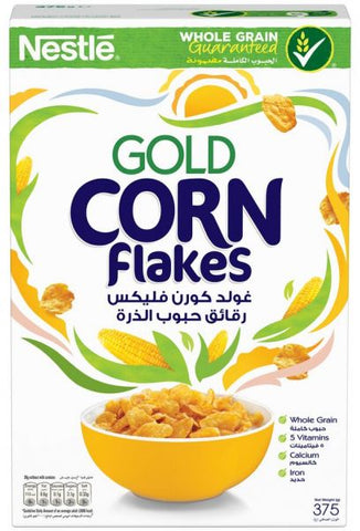 Cereal Corn flakes gold Nestle 375gm - MarkeetEx