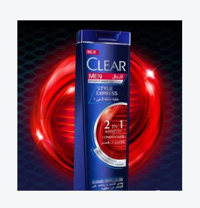 CLEAR MEN STYLE EXPRESS 2 IN 1 SHAMPOO + CONDITIONER 200ML
