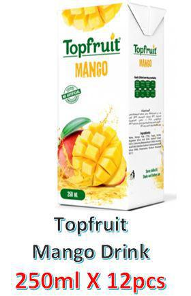 Topfruit Mango Juice Drink 250ml X 12Pcs