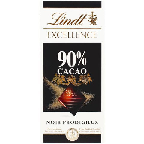 Dark Chocolate Lindt Excellence 100g - MarkeetEx