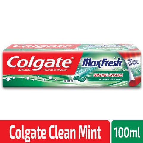 Colgate Max Fresh with Cooling Crystal Clean Mint 100ml - MarkeetEx