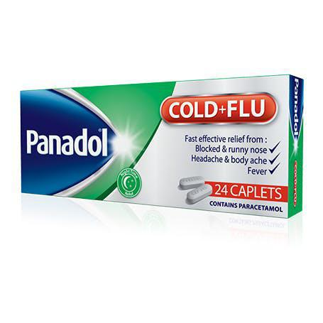 Panadol Cold+Flu - 24 Caplets Pack