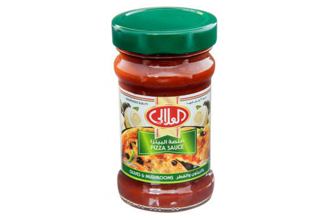 Al AlALi Pizza Sauce With Olive & Mushrooms 320gm