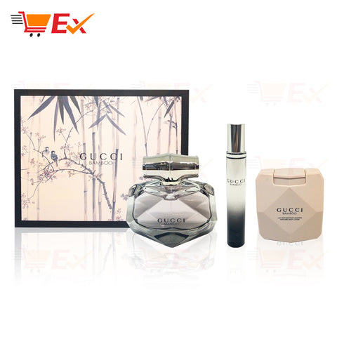 GUCCI BAMBOO 75ml GIFT SET