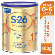 Wyeth S26 Pro Gold Stage 1 Premium Infant Formula - حليب اس٢٦