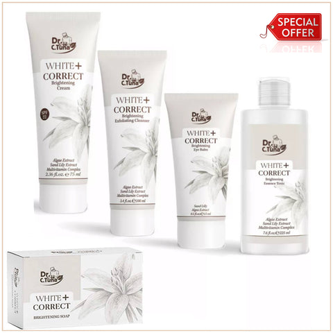 Dr. C. Tuna White Correct Skin Whitening Set of 5 Product - MarkeetEx