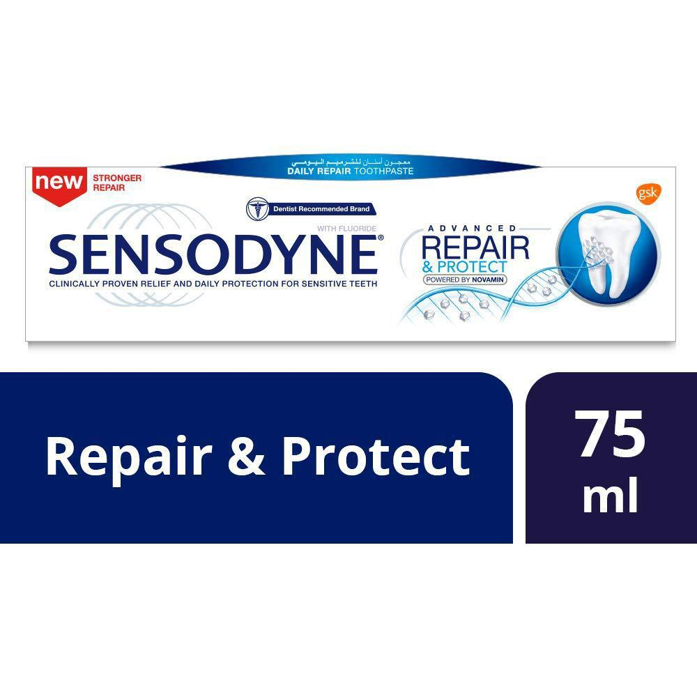 Sensodyne Toothpaste Advance Repaire and Protect 75ML - معجون أسنان سنسوداين - MarkeetEx