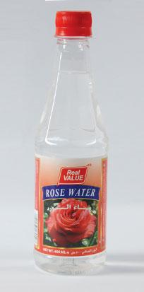 Real Value Rose Water 400ml
