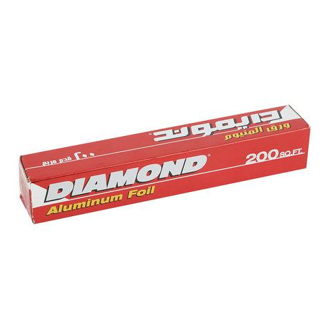 Diamond Aluminium Foil Sq. Feet 200 - MarkeetEx