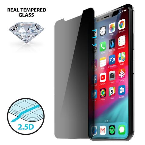 iLuv 2.5D Privacy Tempered Glass for iPhone X/Xs - AIXP25DTEMF
