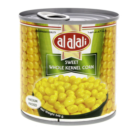 Al AlAli Sweet Corn Whole Kernel 340gm