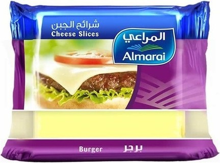 Almarai Burger Cheese Slices 10 PC 200g - MarkeetEx