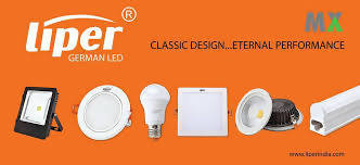12W LED SURFACE DOWNLIGHT - WARM WHITE - LIPER GERMANY