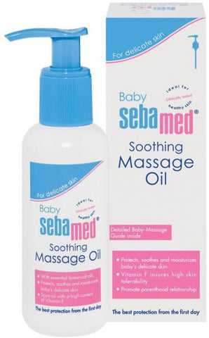 Sebamed Baby Massage Oil 150ml-33-D - MarkeetEx