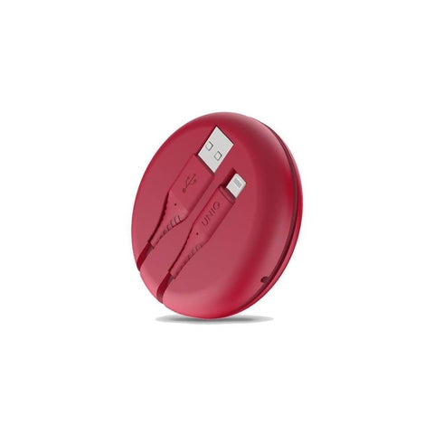UNIQ HALO Smart Cable Organiser (USB-A to Lightning)1.2 m-Red
