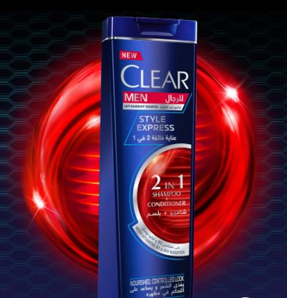 CLEAR MEN STYLE EXPRESS 2 IN 1 SHAMPOO + CONDITIONER 200ML - MarkeetEx