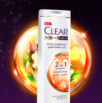 CLEAR ANTI-HAIRFALL 2 IN 1 SHAMPOO + CONDITIONER 400ML