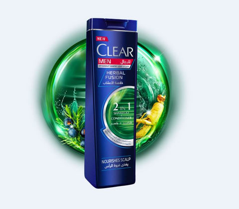 CLEAR HERBAL FUSION 2 IN 1 SHAMPOO + CONDITIONER 200ML