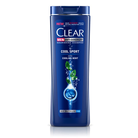 CLEAR MEN SHAMPOO COOL SPORT MENTHOL 200ML - MarkeetEx