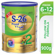 WYETH NUTRITION S26 PROMIL GOLD Stage 2 Follow On Formula - حليب اس٢٦