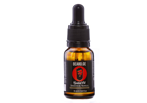 Beard Oil – Tobacco and Vanilla 15 ml - MarkeetEx