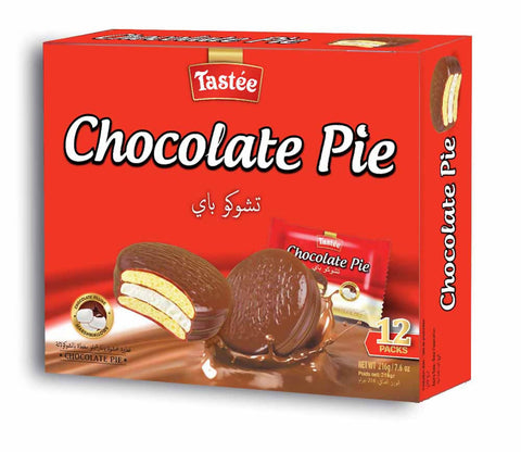 Tastee Chocolate Pie - ( 18 gm X 12 Pcs ) - MarkeetEx