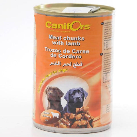 Canifors - Dog : Meat Chunks with Lamb 410 GM - MarkeetEx