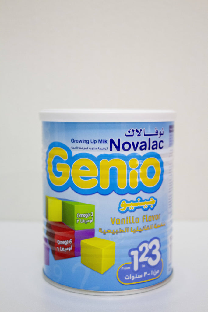 Novalac ( Genio) growing up milk vanilla flavor 400g