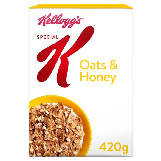 Special K Oats & Honey Kellogg's 420GM