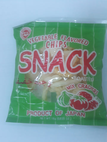 VEGETABLE FLAVORED CHIPS SNACK